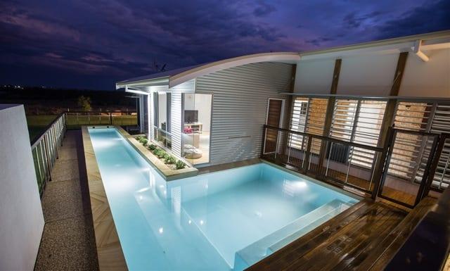 modern acreage home design