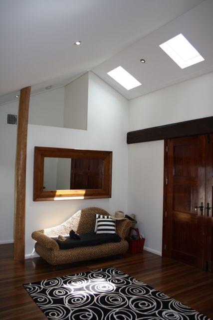 Solar passive entryway