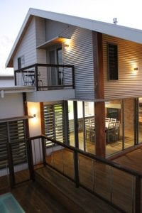 passive solar home for a hot climate