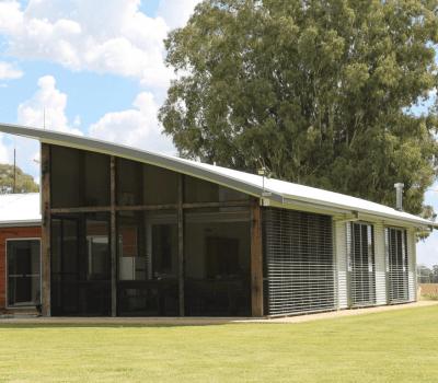 contemporary farm house